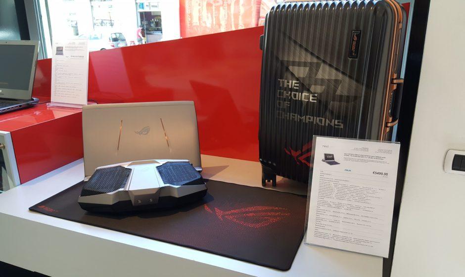 ASUS ROG GX700: il più potente laptop single GPU al mondo