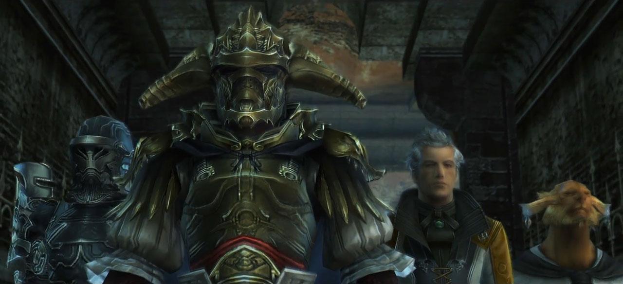 Final Fantasy XII The Zodiac Age video gameplay Comic con