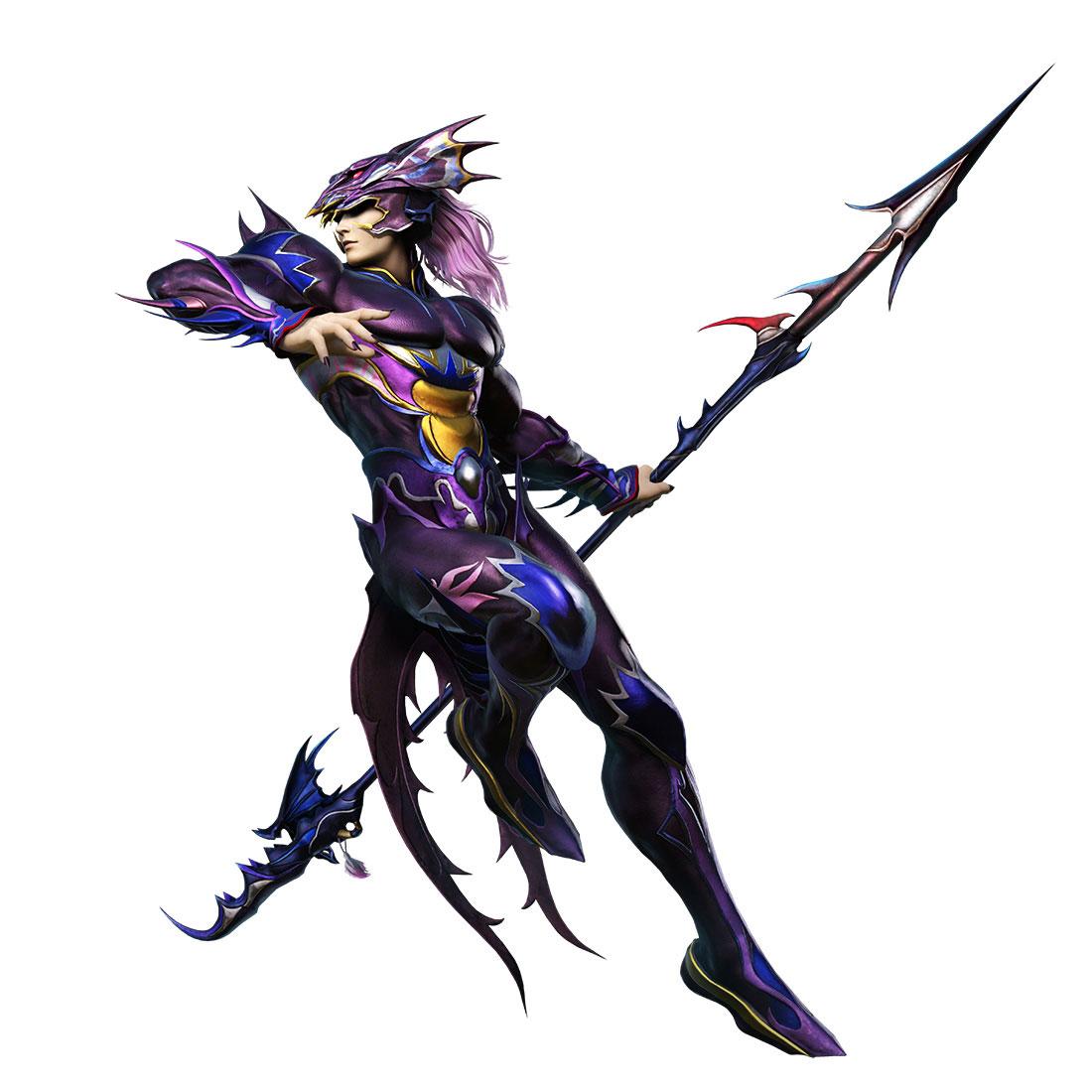Kain Dissidia Final Fantasy artwork