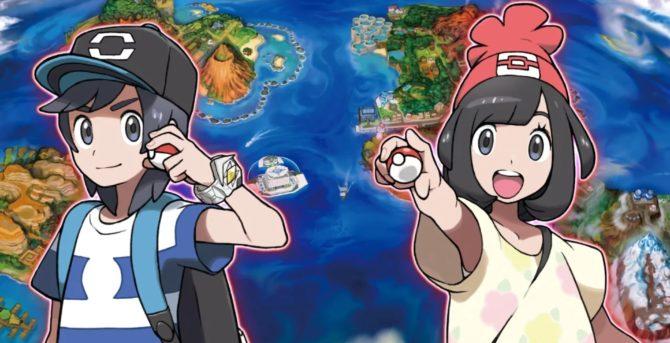 Pokémon Sole, Luna - Anteprima