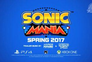 Sonic Mania, nuovo titolo retro dedicato a Sonic