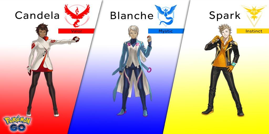 Team Leader Pokemon Go