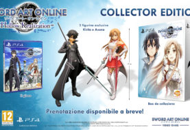 Collector's Edition europea di SWORD ART ONLINE: HOLLOW REALIZATION