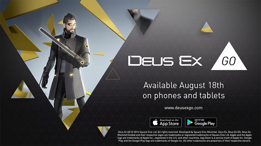Deus Ex GO data uscita