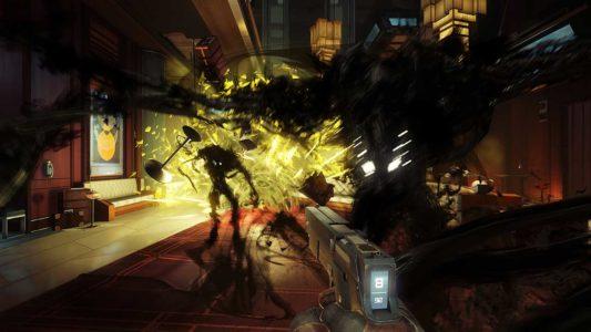 Prey trailer screenshot QuakeCon 03