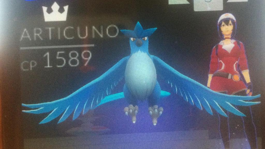 Pokémon GO: catturato il primo leggendario, è Articuno