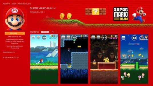 Apple e Nintendo annunciano Super Mario Run per iOS