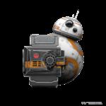 BB-8 Peeking