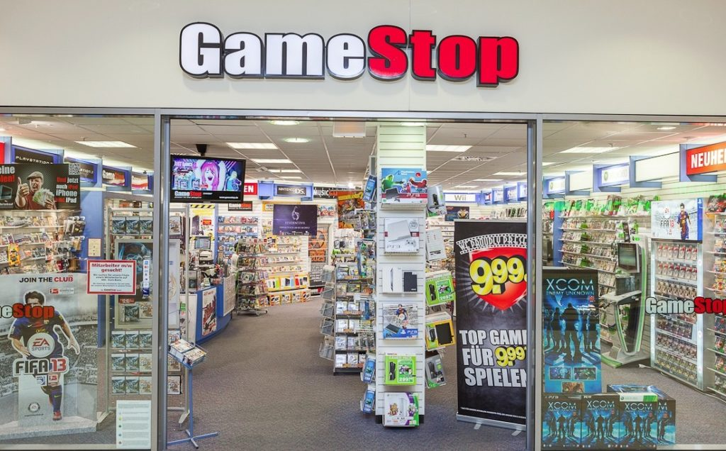 GameStop riapertura