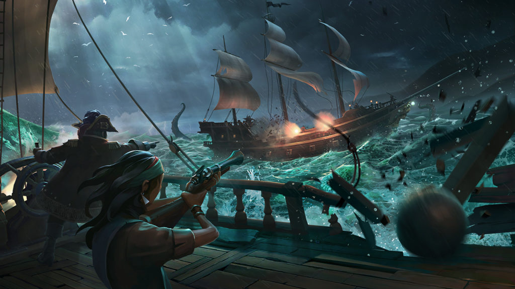 Sea of Thieves, pubblicato un nuovo filmato di gameplay a 4K