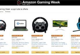 Scopri le imperdibili offerte della Amazon Gaming Week
