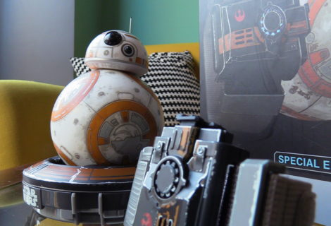 Special Edition Battle Worn BB-8 con Force Band di Sphero