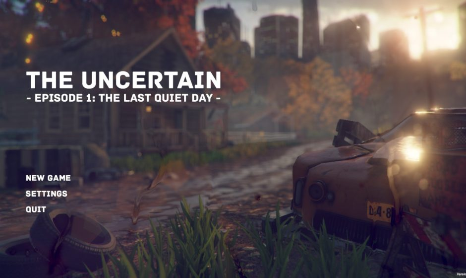 The Uncertain Episode 1: The Last Quiet Day - Recensione