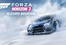 Forza Horizon 3: Blizzard Mountain è il primo, grande DLC del gioco