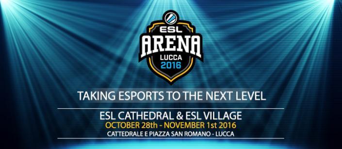 [LCG16] ESL Village: il paradiso dei videogiocatori con ESL Italia e Intel