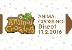 Nintendo annuncia un Animal Crossing Direct per il 2 Novembre