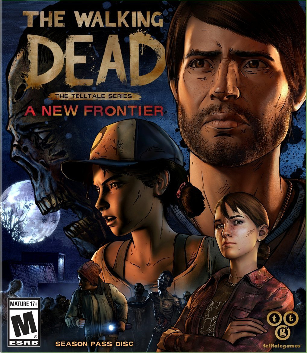 Cover The Walking Dead: A New Frontier