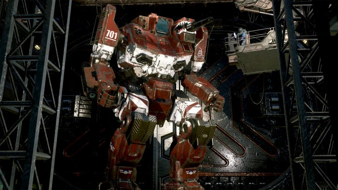 Annunciato Mechwarrior 5: Mercenaries