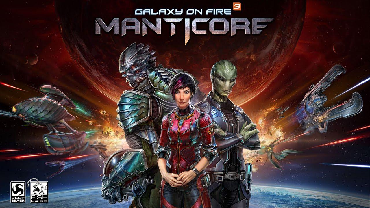 Galaxy on Fire 3 – Manticore – Recensione