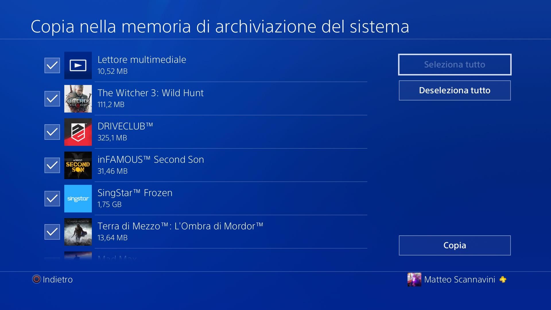 hard disk ps4