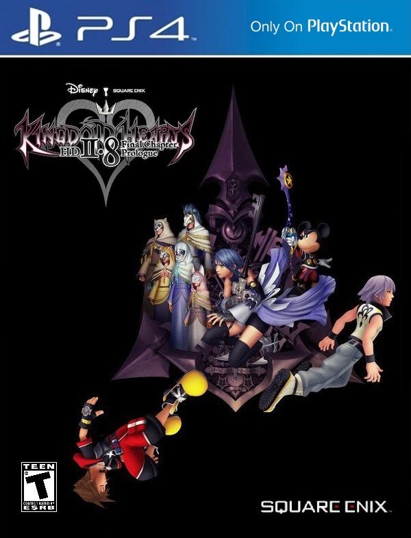 Cover Kingdom Hearts HD 2.8