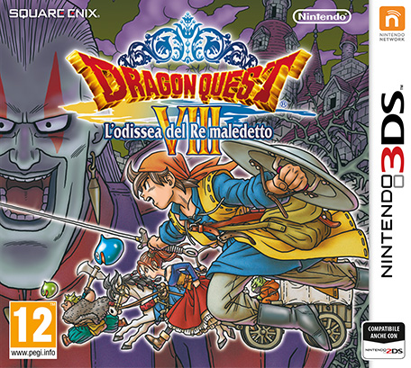 Cover Dragon Quest VIII 3DS