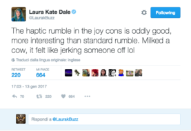 "Laura Kate Dale ci dona un ""parere personale"" sul rumble dei Joy-Con di Nintendo Switch"