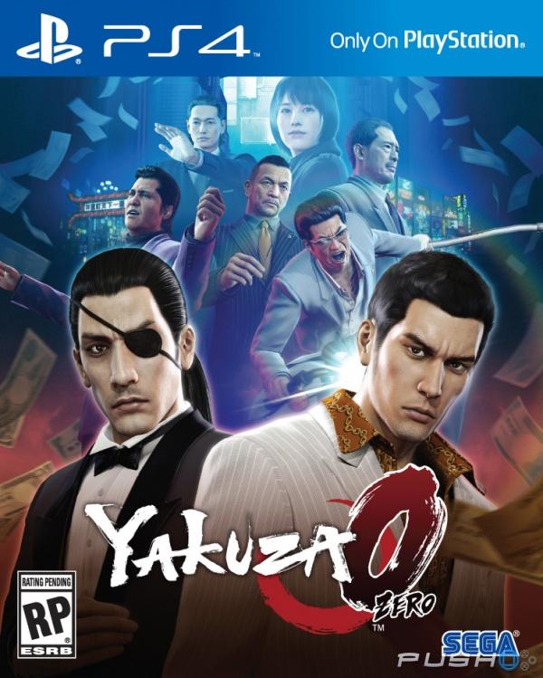 Cover Yakuza 0