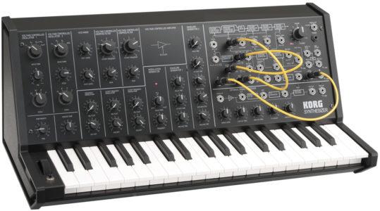 KORG MS-20 mini synthesizer