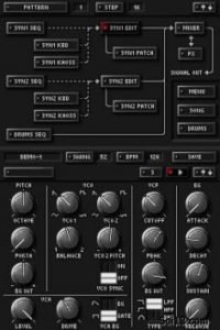 KORG DS-10 screenshot