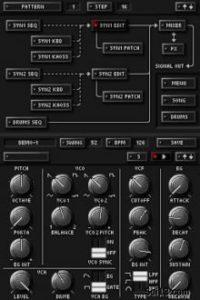 KORG DS-10 screenshot