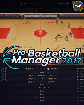 Cover Pro Basketball Manager 2017