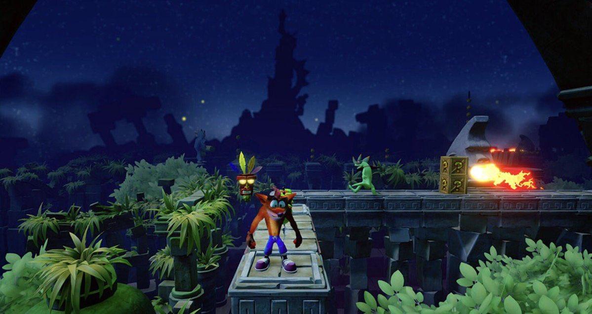Crash Bandicoot N Sane Trilogy, disponibile l'impossibile livello Stormy Ascent