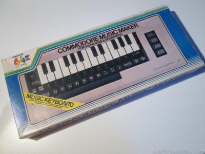 Commodore tastiera musicale