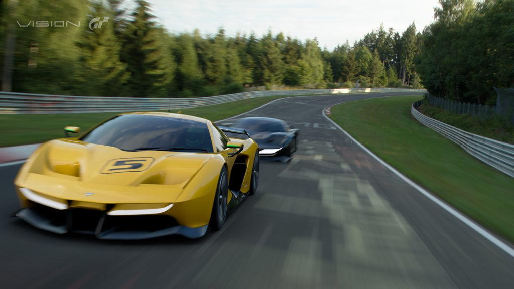 Gran Turismo Sport: svelata la Fittipaldi EF7 Vision Gran Turismo di Pininfarina
