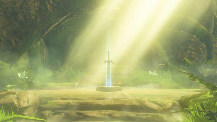 The Legend of Zelda Breath of the Wild spada suprema