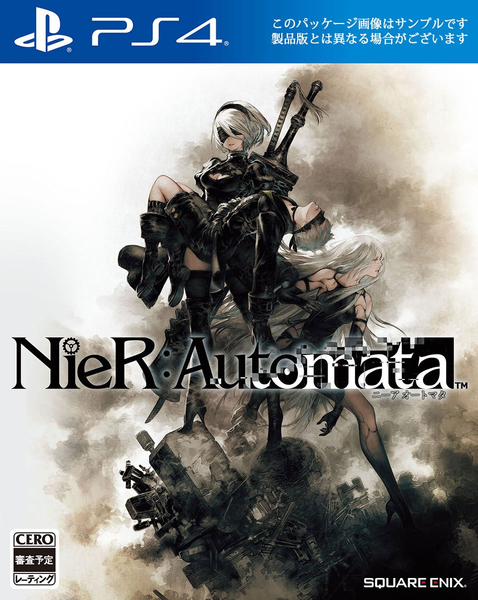Cover Nier Automata
