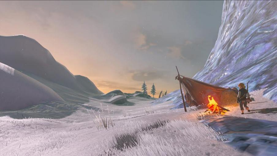 The Legend of Zelda Breath of the Wild freddo