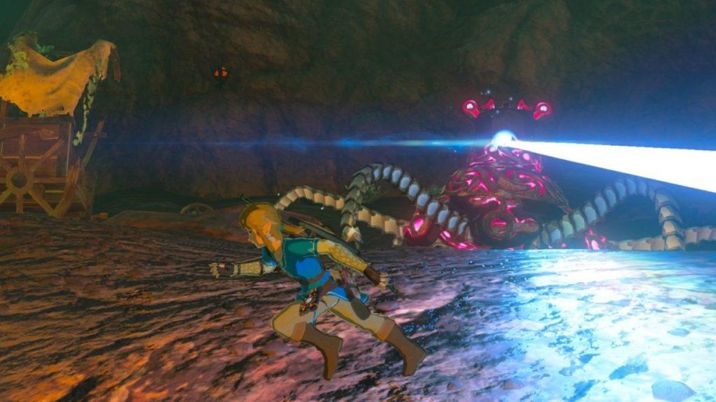 The Legend of Zelda: Breath of the Wild Guardiani
