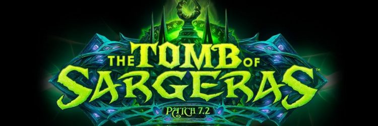 World of Warcraft trailer patch tomba sargeras