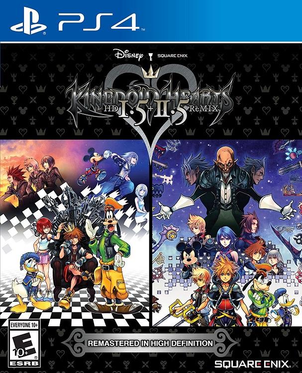 Cover Kingdom Hearts HD 1.5 + 2.5 ReMIX