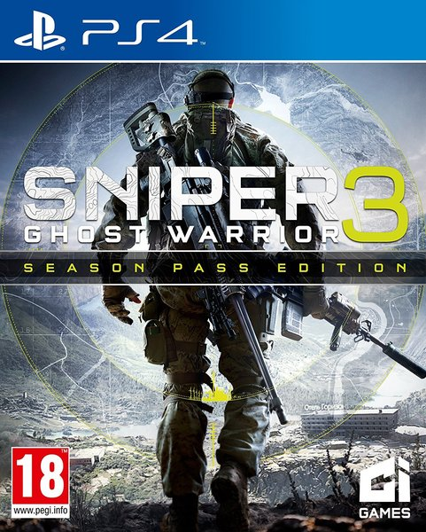 Cover Sniper Ghost Warrior 3