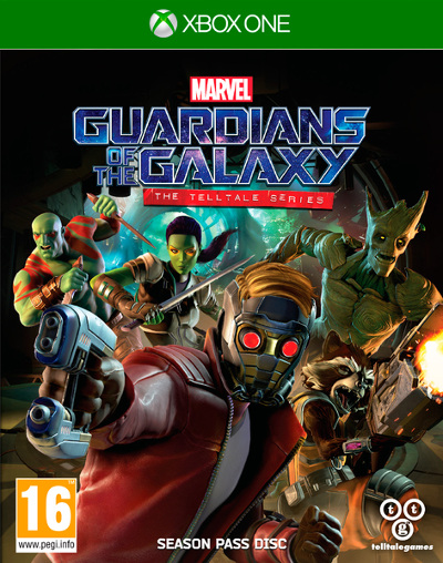 Cover Guardiani della Galassia: The Telltale Series