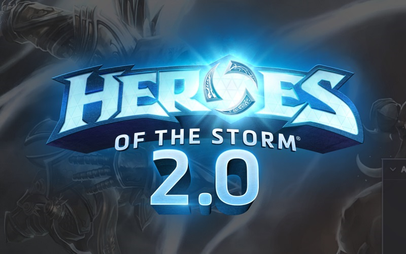 Heroes of the storm 2.0, Blizzard, Overwatch