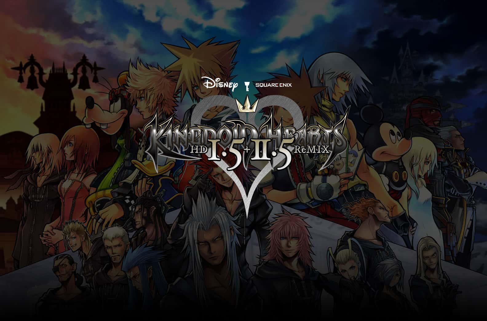 Kingdom Hearts HD 1.5 + 2.5 ReMIX – Recensione