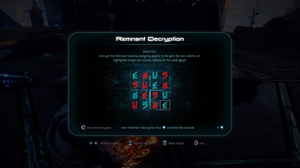 puzzle Remnant in Mass Effect Andromeda