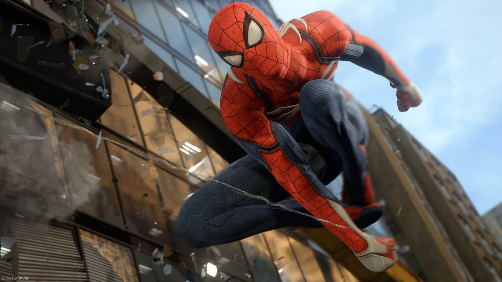 Il gameplay di Spider-Man E3 2017