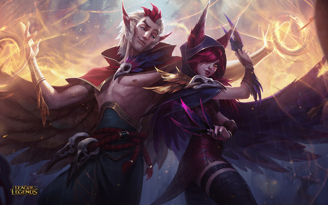 League of Legends: disponibili Xayah e Rakan