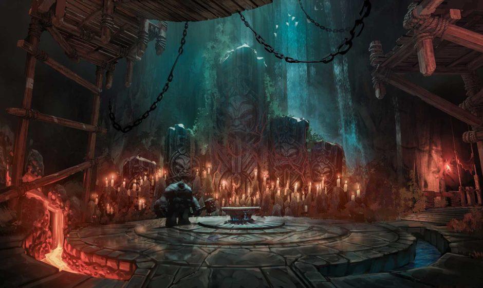 Nuovo trailer di gameplay per Darksiders III, ambientato in una caverna