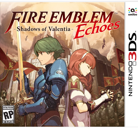 Cover Fire Emblem Echoes Shadows of Valentia